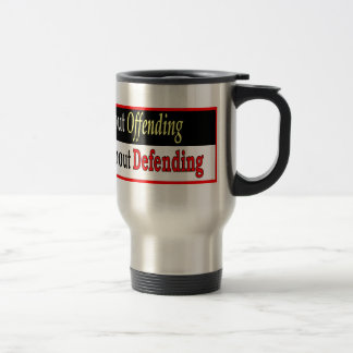 Quit Worrying About Offending Travel Mug