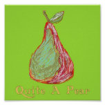 Quite a Pear Posters