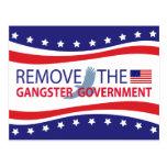 Quite al gobierno del gángster postal