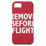 Quite antes de vuelo iPhone 5 Case-Mate cobertura