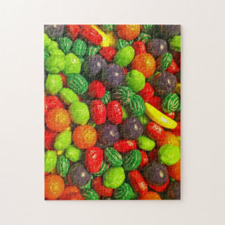 Quite Colorful Candies Jigsaw Puzzle