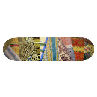 Quite Crazy Quilt Skateboard Deck
