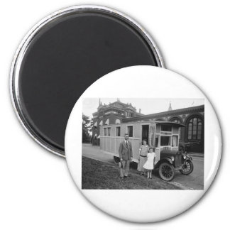 Quite Probably the First Ever MOBILE HOME Refrigerator Magnet