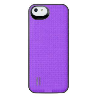 Quited Violet iPhone SE/5/5s Battery Case