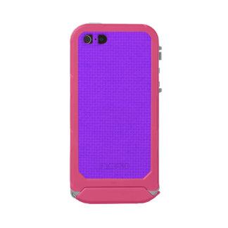 Quited Violet Waterproof iPhone SE/5/5s Case