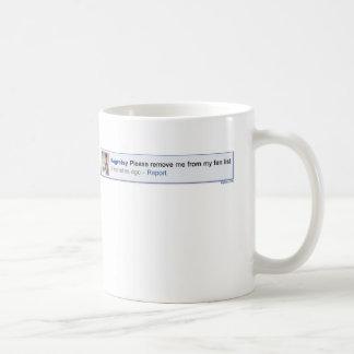 Quíteme por favor taza de café