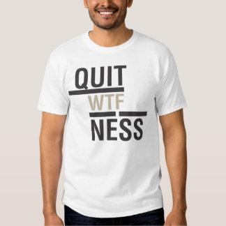 Quitness Tshirt 2 Black