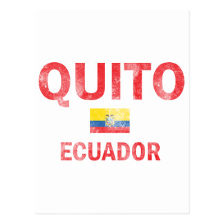 Quito Ecuador Designs Postcard