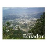 Quito, Ecuador from the Metropolitano Park Postcard