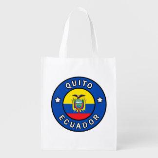 Quito Ecuador Grocery Bag