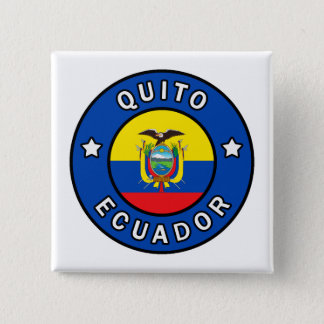 Quito Ecuador Pinback Button