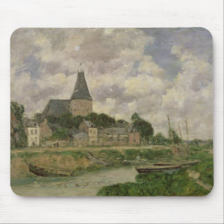Quittebeuf, 1893 (oil on canvas) mouse pad