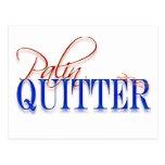 Quitter de Palin Tarjetas Postales