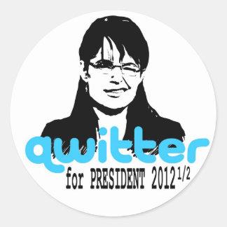 Quitter Sticker