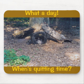 Quitting time! - mousepad