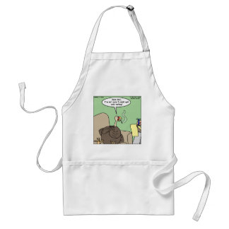 Quittng Smoking Cold Turkey Funny Gifts & Tees Adult Apron