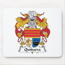Quituera Family Crest Mousepad