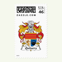 Quituera Family Crest Stamps