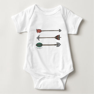 Quiver Full Arrow Psalm 127:4-5 for Baby Baby Bodysuit