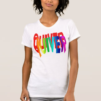 """QUIVER ;Slang for '"""" I'M SCARED"""", when youre not . T-Shirt"""