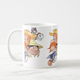 Quixote Characters by @QUIXOTEdotTV Mug