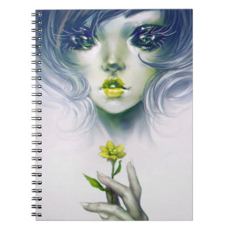 Quixotic Spiral Notebook