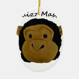 Quizz Master Ceramic Ornament