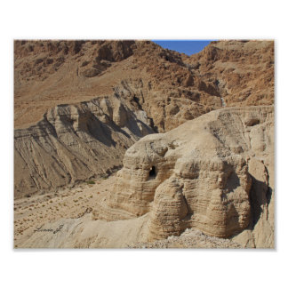Qumran Cave Israel Canvas Print