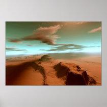 desert, print, southwest, deserts, Cartaz/impressão com design gráfico personalizado