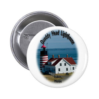 Quoddy Head Lighthouse Button