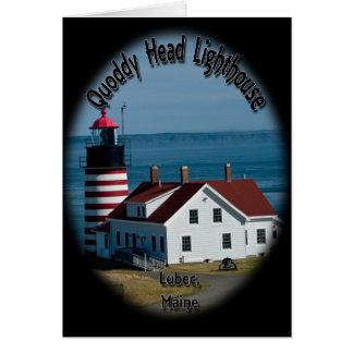 Quoddy Head Lighthouse Card