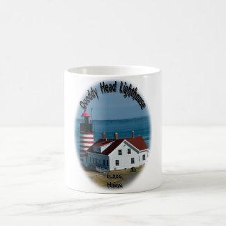 Quoddy Head Lighthouse Coffee Mug