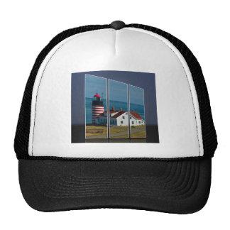Quoddy Head Lighthouse Cutout Trucker Hat