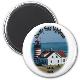 Quoddy Head Lighthouse Magnets