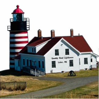 Quoddy Head Lighthouse Cut Out