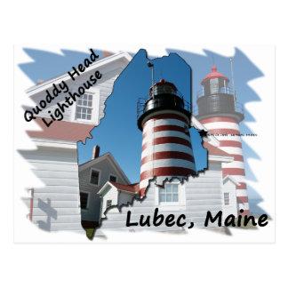 Quoddy Head Lighthouse Postcard