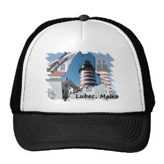 Quoddy Head Lighthouse Trucker Hat