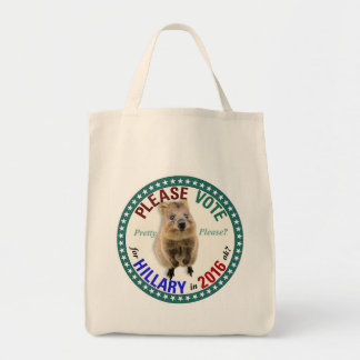 Quokka asks: Please vote Tote Bag