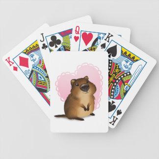 Quokka Bicycle Playing Cards