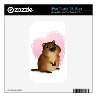 Quokka Decal For iPod Touch 4G