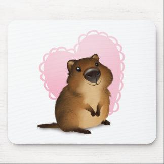 Quokka Mouse Pad