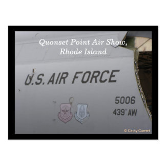 Quonset Point Air Show Postcard