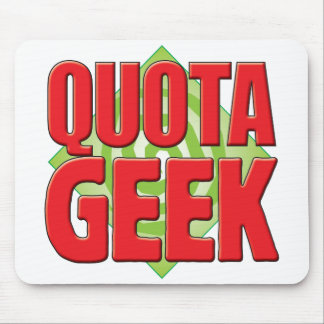 Quota Geek v2 Mouse Pad