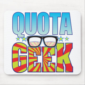 Quota Geek v4 Mouse Pad