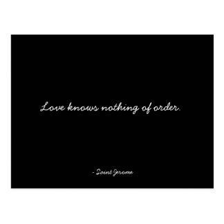 Quotable Postcard - Passion and Love