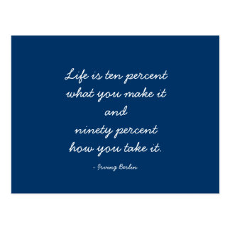 Quotable Quotes - Advice and Observations - Life Postcard