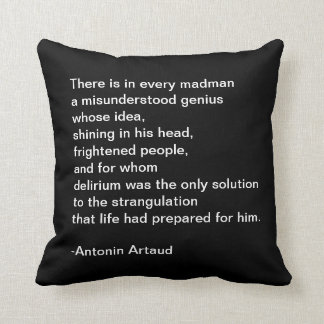 Quotable Throw Pillow
