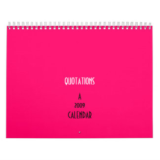 QUOTATIONS calendar by SweetKitten