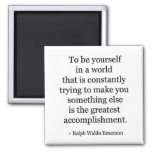 Quote 2 Inch Square Magnet