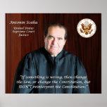 Quote #4 - Justice Antonin Scalia Poster